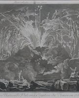 Encyclopedie: Eruption of Mount Vesuvius in 1754