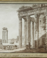 Angelo Uggeri: views of Rome and the surrounding area