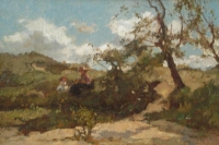 A September day in the dunes - Johannes Evert Akkeringa