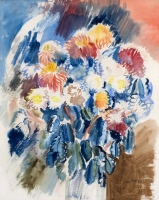 Still life with flowers - Jean Dufy
