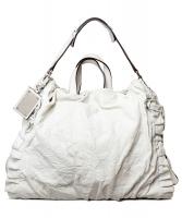 Dolce & Gabbana White Miss Rouche Hobo