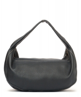 Miu Miu Black Pebbled Leather Hobo