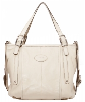 Tod's Ivory Leather G-Bag Tote