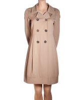 'S Max Mara Beige Cotton Trench Coat