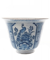 A  Bowl in Blue and White Dutch Delftware - Willem Jacobsz. van der Kool
