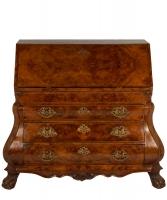 A Burr Walnut Bureau