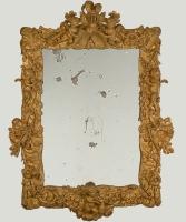 Een Barok Vergulde Spiegel