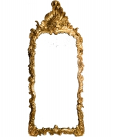 A Rectangular Louis XV Mirror