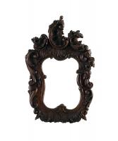 Een Louis XV Notenhouten Spiegeltje