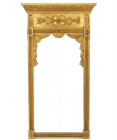 An Empire Giltwood Mirror