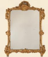 Een Rechthoekige Louis XIV Spiegel