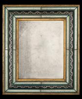 A Rectangular Murano Mirror