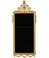Een Rechthoekige Louis XVI Spiegel