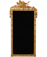 A Rectangular Louis XVI Gilded Mirror