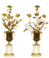 Een Paar Louis XVI Kandelabers