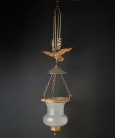A Regency Pendant Lantern