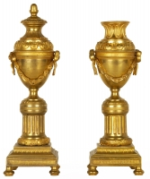 A Very Fine Pair of  Ormolu Cassolettes