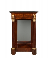 An Empire Mahogany Wall-Table