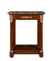 A Empire Mahogany Wall-Table