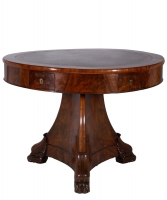 An Empire Mahogany Game Table