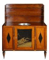 A Fine Dutch Louis XVI Sideboard or 'Klapbuffet'