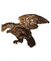 A Sculpture of an Eagle