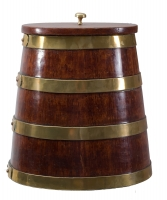 A Mahogany Herringbarrel