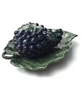 A Polychrome Delft Grape Tureen