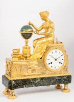 Good Empire Pendule with Urania, circa 1810