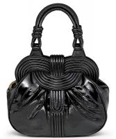 Lara Bohinc 'Lunar Eclipse' Black Patent Leather Handbag