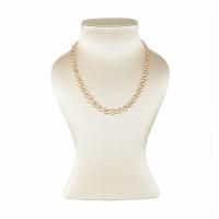 Artur Scholl 18 Carat Pink Gold White Topaz Necklace