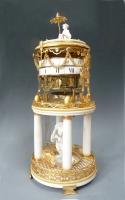 Zeldzame Louis XVI klok 'pendule à cercles tournants', Antoine Coliau à Paris. Circa 1780