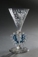 Façon de Venise engraved glass
