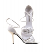 Pollini White Leather Pumps