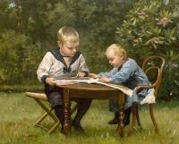 Willem Steelink jr. 1856 - 1928 Bentie en Jantje van Essen