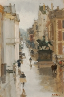 A view of the Noordeinde, The Hague - Floris Arntzenius