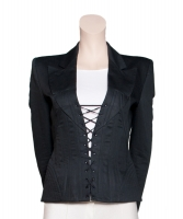 SS 2002  Alexander McQueen 'Dance of the Twisted Bull' Corset Blazer - Alexander McQueen