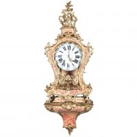 "A very Attractive So Called ""Vernis Martin"" Swiss Console Clock, circa 1760"