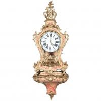 "A very Attractive So Called ""Vernis Martin"" Swiss Console Clock, circa 1760"