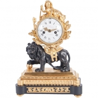 Very Important 18th Century Louis XVI Mental Clock, circa 1770