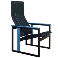 Finnish Design Chair circa 1980 by Simo Heikkila