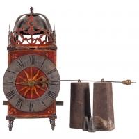Impressive Large French Country Lantern Clock