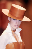 Hermès Equestrian Leather Hat - Hermès