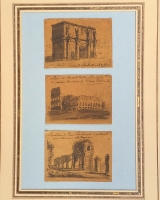 Drie kleine schetsen van Rome