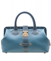 Louis Vuitton Blue Suhali Leather L'Ingenieux PM Bag - Louis Vuitton