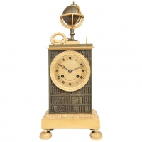 A nice empire Charle 10 mental clock circa 1830