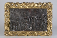 Dutch Renaissance Carved Walnut Relief