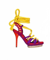 Christian Dior Espadrille-style Platform Sandals