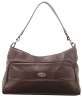 Céline Brown Leather Shoulder Bag