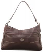 Céline Brown Leather Shoulder Bag
